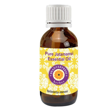 FRee Shipping Pure Jatamansi Essential Oil (Nardostachys Jatamansi) 100% Natural Therapeutic G  5ML
