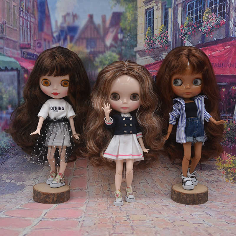 Фабрика нео-кукла индивидуальные матовые лицо, 1/6 BJD кукла на шарнирах Blyth куклы для девочек, Reborn Baby Born игрушки для детей A