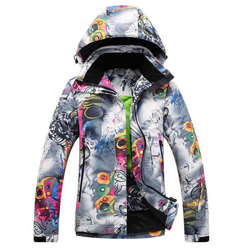 Free Shipping Outdoor Womans Snow Ski Clothes Snow Jacket Female ...