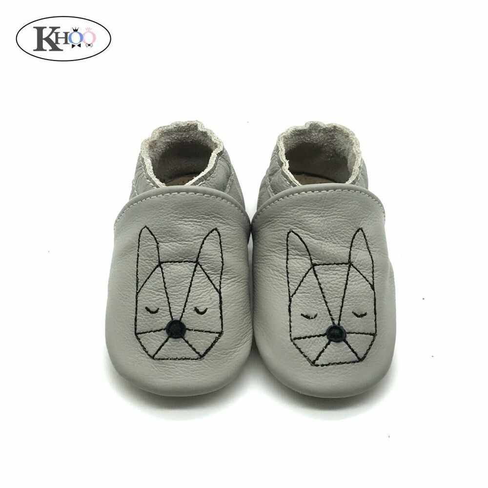 362891065c7569 Latest Animal Baby Shoes Handmade Genuine Leather Baby Boy Moccasins Shoes  Non-Slip Soft Sole