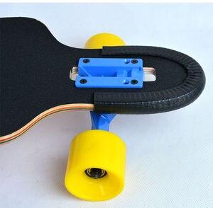 Image 4 - 좋은 품질과 기능을 갖춘 longboard 및 double rocker 용 1 쌍 스케이트 보드 보호 레일