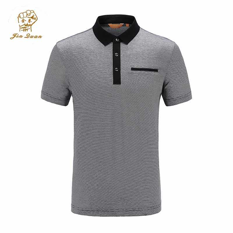 hot polo shirt men classic Business & Casual solid male Polo shirt Short Sleeve breathable polo shirt JQ1829