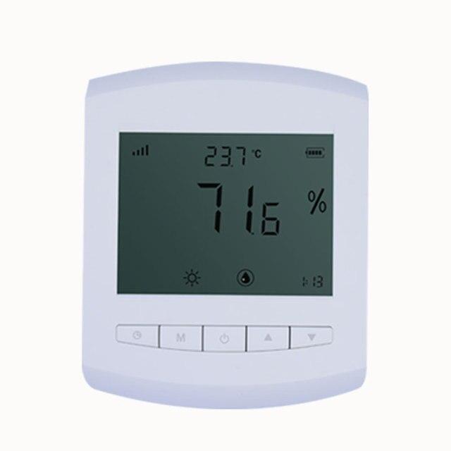 433mhz לורה אלחוטי טמפרטורה ולחות חיישן משדר 868 טמפרטורה ולחות מד LCD תצוגת חשמל נמוכה במיוחד