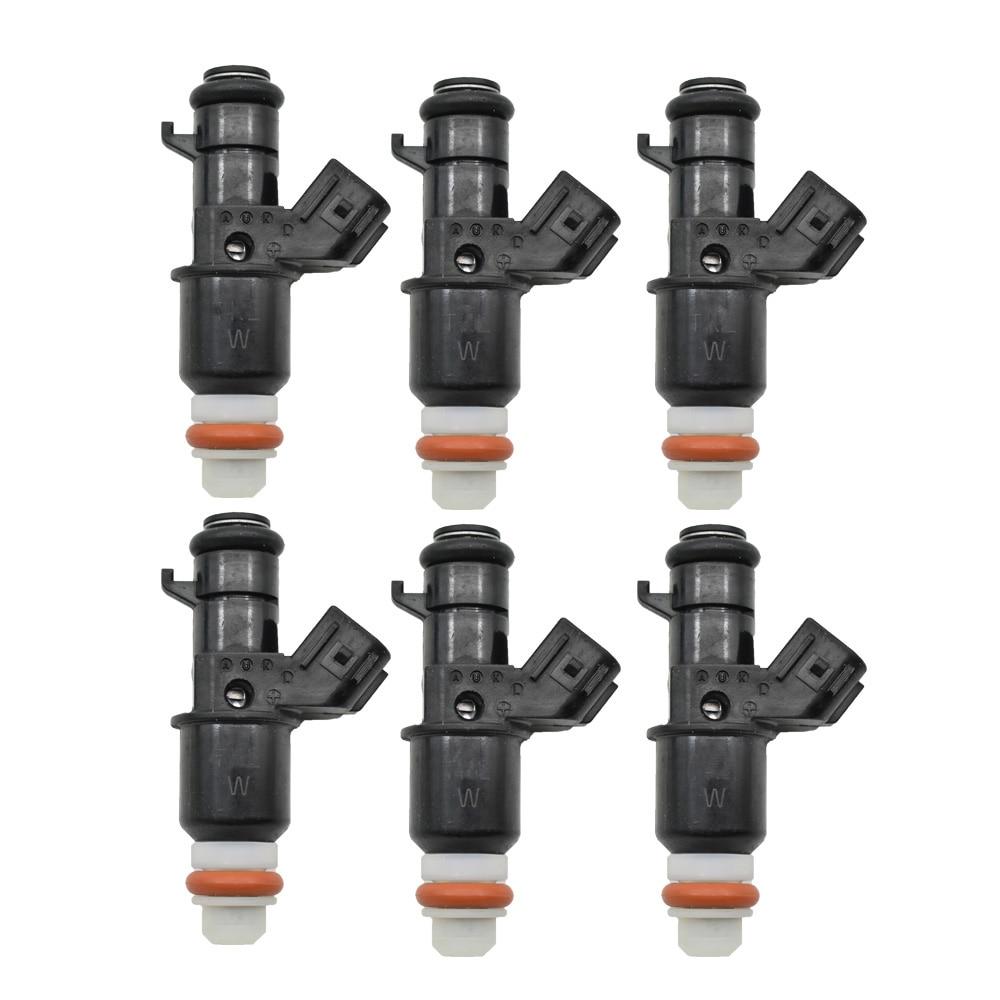Original 6pc lot Fuel Injector Flow Valve For Honda Civic 06 11 1 8L 16450 RNA