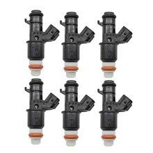 Оригинальный 6 шт./лот топливный инжектор клапан потока для Honda Civic 06 11 1.8L 16450 RNA A01 16450RNAA01 инжекторы форсунки
