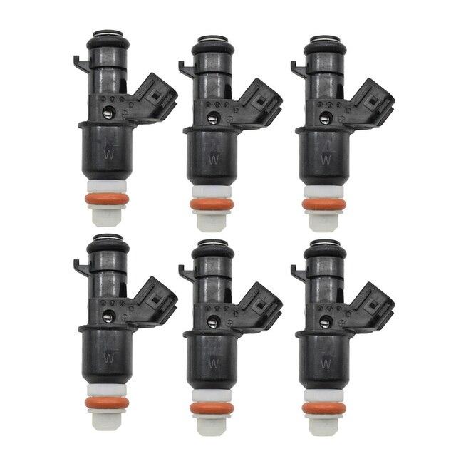 Original 6pc/lot Fuel Injector Flow Valve For Honda Civic 06 11 1.8L 16450 RNA A01 16450RNAA01 Injection Nozzle Injectors