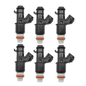 Image 1 - Originele 6 Stk/partij Brandstof Injector Flow Valve Voor Honda Civic 06 11 1.8L 16450 RNA A01 16450RNAA01 Injectie Nozzle Injectoren