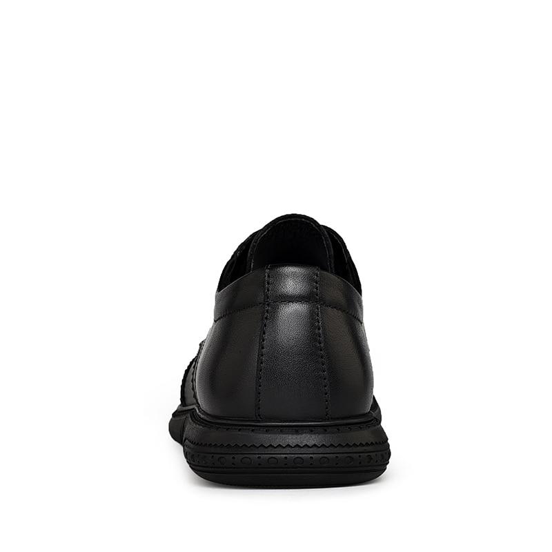 Hombres 2 Clax Zapatos Black 1 black Zapato De Cuero Diseñador Formal Para Oxford Calzado Hombre Genuino w8Zw6q7dr