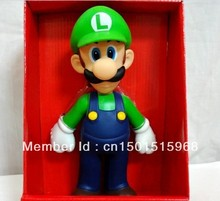 Chritmas Gifts Super Mario Brothers Luigi Action Figure  9.0″23CM Free Shipping