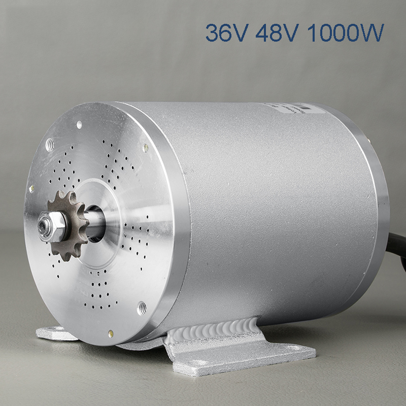 bicicleta electrica DC Motor 36V 48V 1000W Brushless Motor Electric Bike Motocross Motors Electric Scooter Electric Motor Part