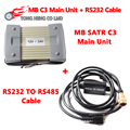 Best Quality MB Star C3 main unit + RS232 to RS485 cable DHL Free