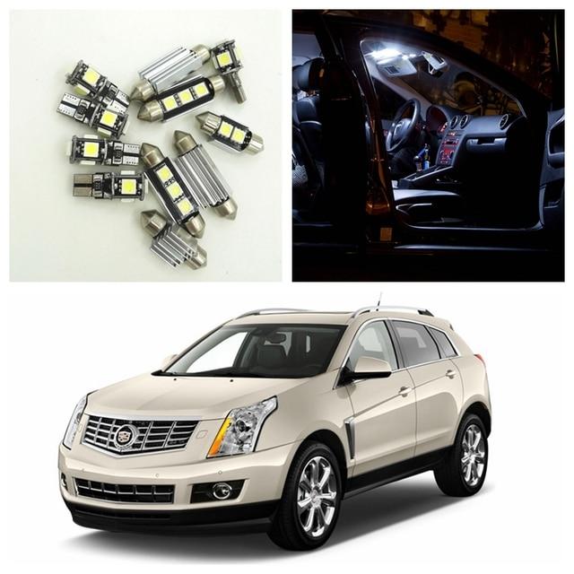 15 unids blanco CANbus del coche LED Bombillas interior Paquetes kit ...
