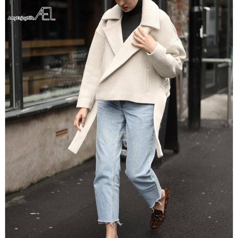 Cotone Del Di Donne Moda Cappotto Bianco Inverno 2017 Materiale Delle Alta E Autunno Bicchierino Beige Ael Qualità Abbigliamento q5FnxEvXxw