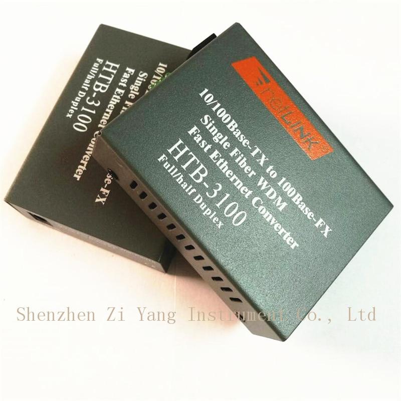 Htb-3100ab Optisk Fiber Media Converter Fiber Transceiver Single - Kommunikationsutrustning - Foto 4