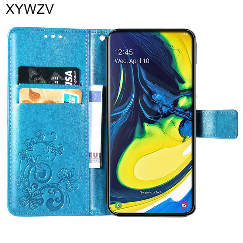 Image 2 - For Samsung Galaxy A80 A90 Case Soft Silicone Filp Wallet Shockproof Phone Bag Case Card Holder Fundas For Samsung A80 A90 Cover-in Flip Cases from Cellphones & Telecommunications