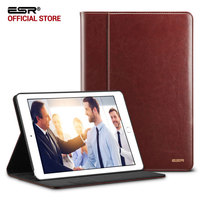 Case For IPad Pro 10 5 ESR Premium PU Leather Business Folio Stand Pocket Auto Wake