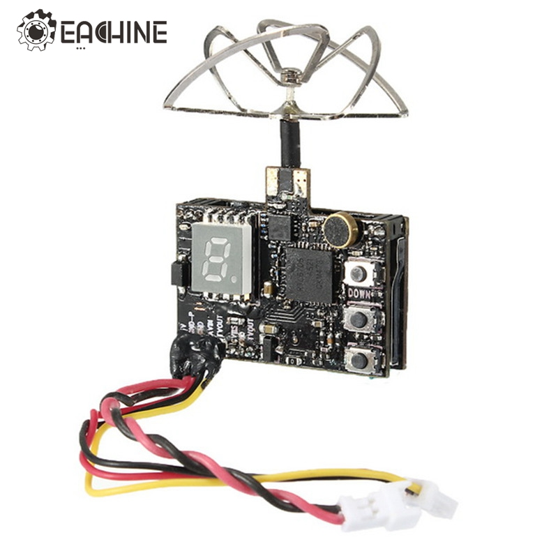 Eachine DTX03 DVR 5.8G 72CH 0/25mW/50mW/200mW Switchable VTX w/ Audio NTSC/PAL FPV Transmitter TX For RC Drone FPV Quadcopter чайник bosch twk 7s05