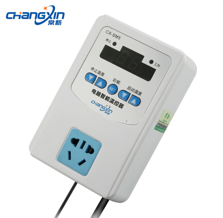 Electronic computer intelligent thermostat temperature control switch CX-SM5 Three significant (1500W) magnetic head
