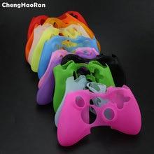 ChengHaoRan 10 adet Renkli silikon kapaklı kılıf Koruyucu Kılıf Xbox 360 Xbox360 Oyun Denetleyicisi Silikon Hafif Dayanıklı
