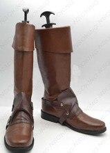Flynn Rider Cosplay Shoes Game Boots High Quality Custom-made flynn