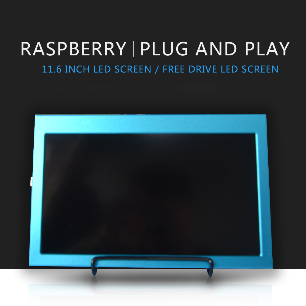 Raspberry pi 4b 11,6 Zoll 1920x1080 HDMI LCD Screen Display kompatibel Jetson nano /Raspberry Pi 4B/3B/3B + Windows 7/8/10