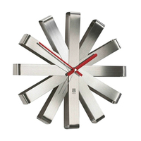 Современный дизайн Тихая художественные настенные часы Гостиная большие часы для ванной механизм Orologio Муро дома настенные часы домашнего