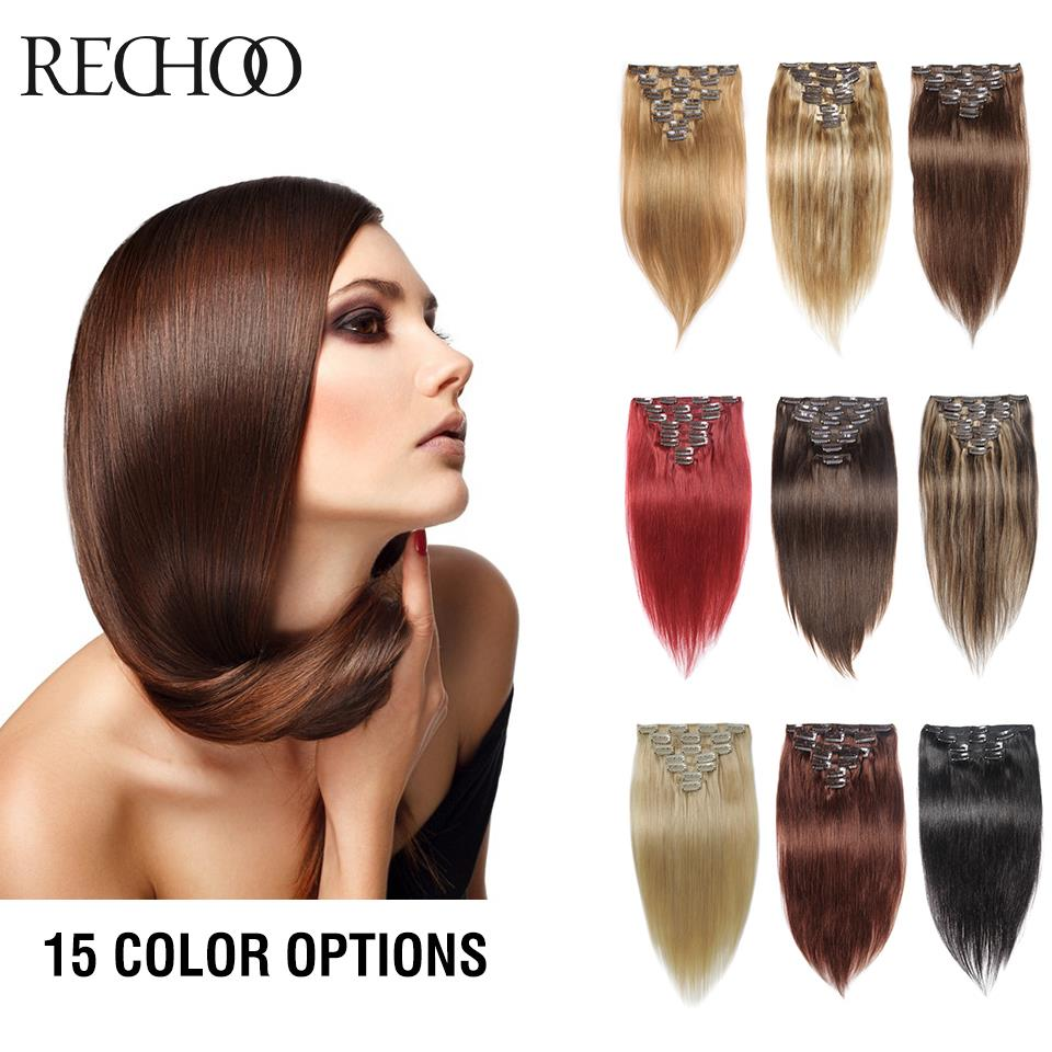 Peruvian Straight Clip In Hair Extensions 22 24 26 Inches Virgin