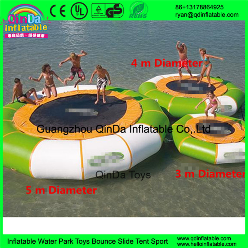 inflatable jumping water trampoline water bed36