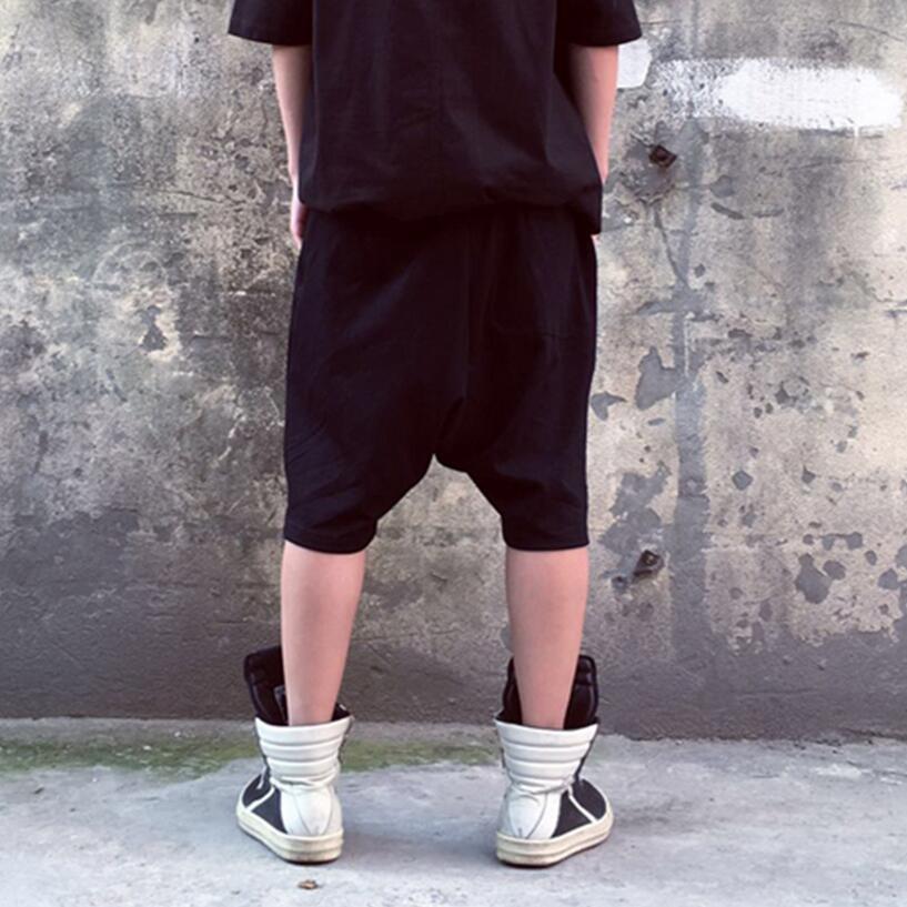 Verano Coreanos Hombres Pantalones Harem Ocio De 27 Costura Entrepierna Tamaño Negro Primavera Calf Nuevo Doble Y Baja longitud Pantalones 40 Gran 1dIIqrw