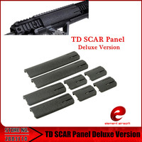 Element Airsoft RIS Picatinny Weaver Rail Cover TD SCAR Panel Deluxe Version Accessories EX339