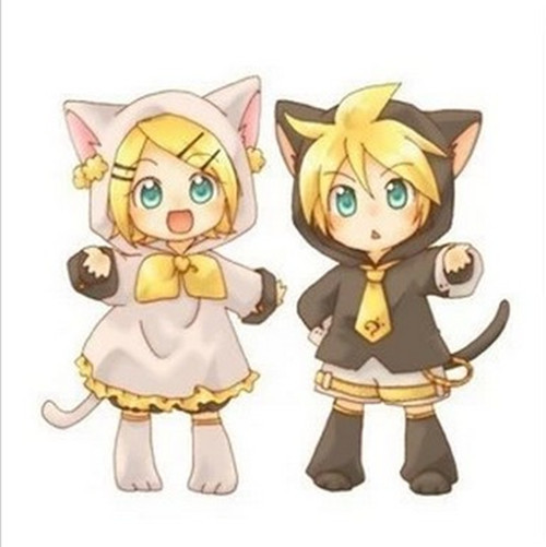 free shipping vocaloid kagamine rin cosplay costume white custom