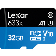 100% Original, Lexar 16GB 32GB Micro SD SDHC Memory Card high speed 64GB 128GB Micro SDXC Card TF Card Class10 633X 95M/s