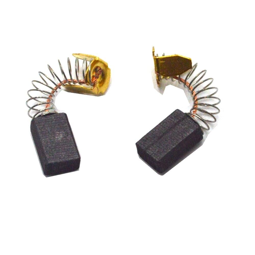 10 pièces moteur électrique remplacement carbone brosse 5x8x13mm