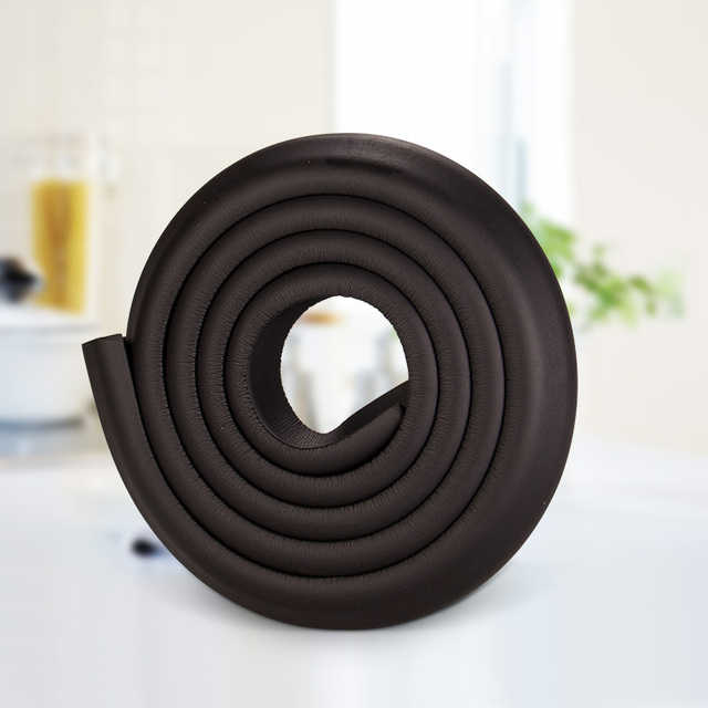Merveilleux BLACK Soft Furniture Bumpers Corner Protectors For Children Table Safety  Protection Foam Angle Table Baby Safe