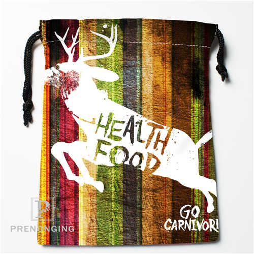 Custom Nebula Deer Drawstring Bags Printing Fashion Travel Storage Mini Pouch Swim Hiking Toy Bag Size 18x22cm #171208