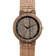 Newest Walnut Wooden Wristwatches Janpan Movement For Men Women Classical Luxury Brand Watch With Gift Box Friendly Environment
