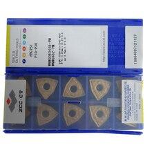 Free shipping 50 units WNMG080408-PM YBC251 ZCC WNMG080408 WNMG0804 ZCCCT cemented carbide turning inserts CVD coating insert