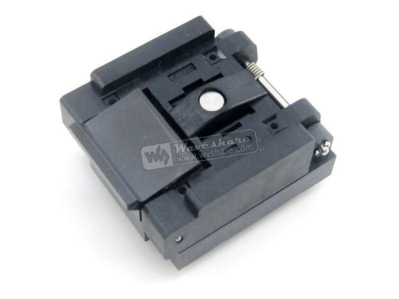 QFN16 MLP16 MLF16 QFN-16(24)B-0.5-02 QFN Enplas IC Test Burn-In Socket Programming Adapter 3x3mm 0.5mm Pitch