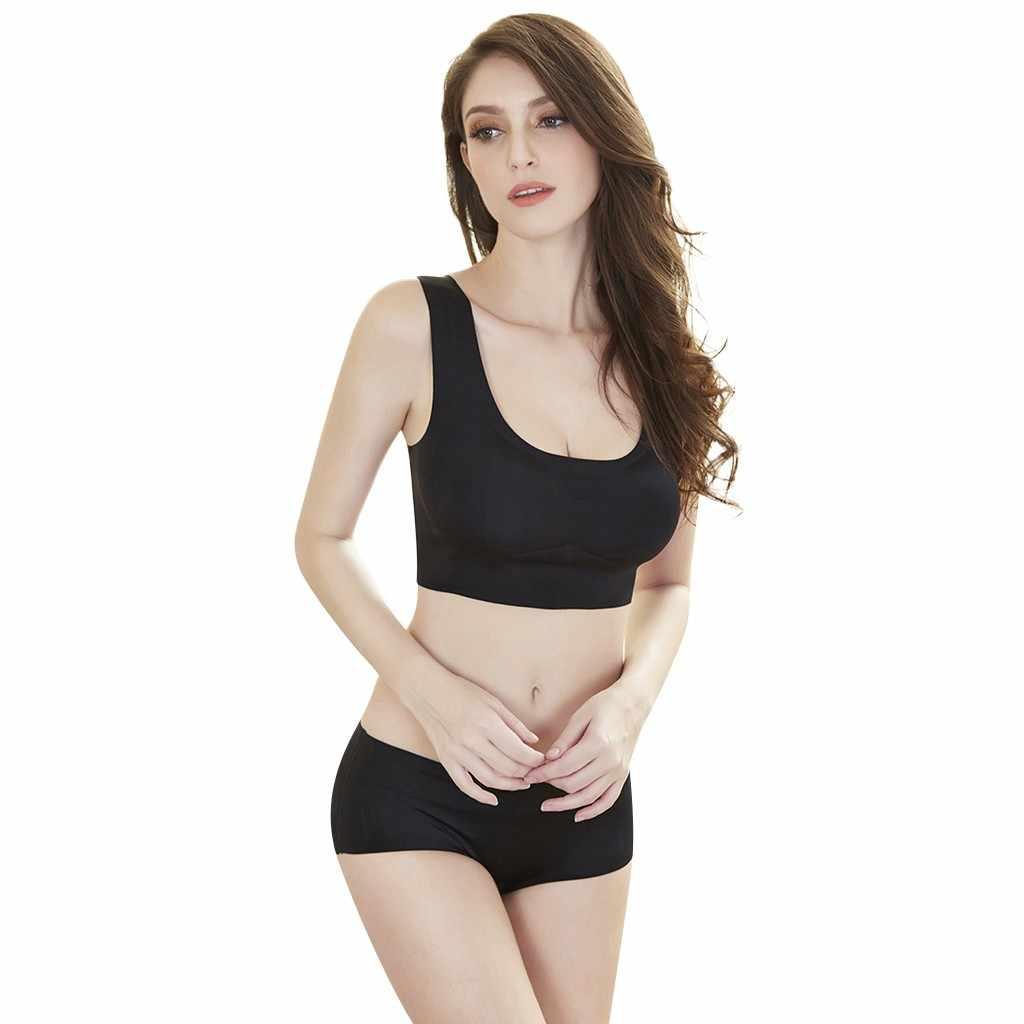 Mulheres sexy sports bra mulheres grávidas sem jantes super lado fivela sutiã de renda no peito lado reunidos esportes yoga colete 2019 novo