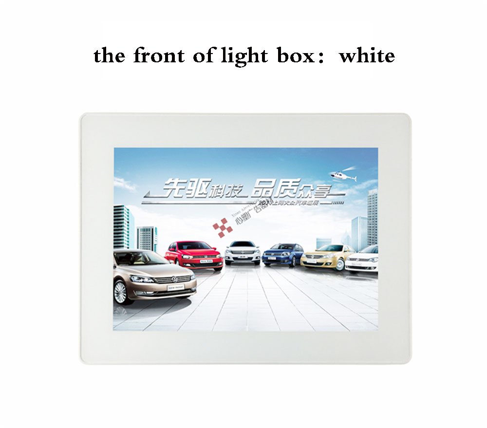 T A4 Light Box Advertising light boxes LED For Decoration Shop Store Display david booth display advertising an hour a day