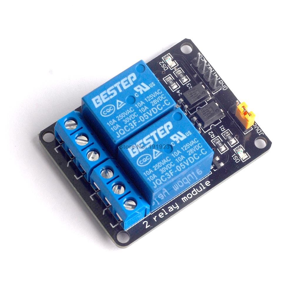 10PCS 2 Channel 5V Relay Module 2Channel Relay Module for Arduino ARM PIC AVR DSP Electronic