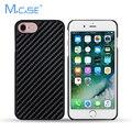 2017 Luxury Protective Case PC + Real Carbon Fiber Case Cover For iPhone 7 7 Plus 7Plus Carbon Phone Cases