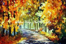 palette knife oil painting  modern oil painting canvas oil painting K188