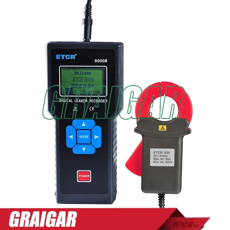 28626ab26b9a6 っETCR8000B Wechselstrom/Leckage Überwachung Recorder speicherung ...
