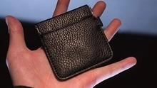 1 pc Magic Coin Wallet VDR By Kelvin Chow Magic Tricks Magic Props Mentalism Close Up Street Magic Gimmick Illusions