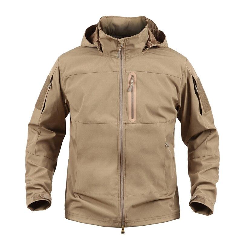 Vêtements de plein air automne hommes militaire randonnée Camouflage polaire veste armée tactique manteau Multicam mâle Softshell coupe-vent