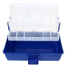 Drop shipping Waterproof Fly Fishing Lure Tackle Boxes Lure Bait Hook Storage Case Fishing Tackle Box