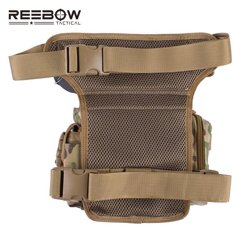 Relojes Y Joyas Reebow Tactical Outdoor Tactical Huning Waist Drop Leg Bag Multi-functional 1000d Nylon Swat Sports Running Bag