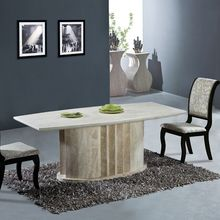 Natural Travertine Dining Table Set High Quality Natural Sto