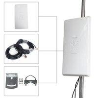 Dlenp 24dbi 4G LTE Router Antenna Big panel LTE 4G antenna connector 4G use router antenna Outdoor Panel Antenna